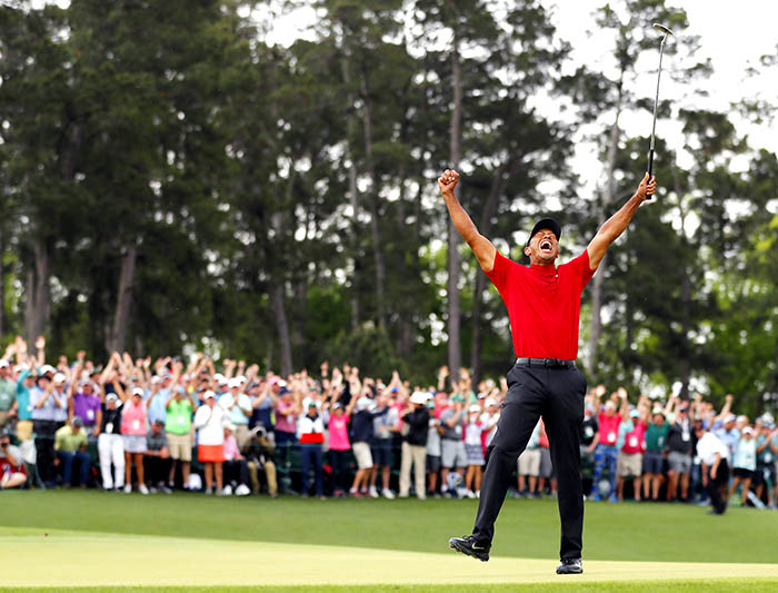 Tiger Woods Claims His 5th Masters